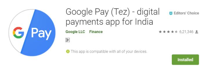 Google Pay (Tez)