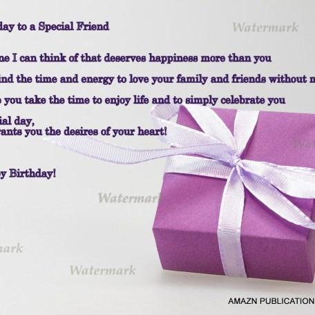 Happy Birthday Friend Ecard