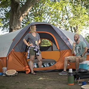 Tent, Large Tent, Big Tent, Family Tent, Camping, Best Tent, Core Equipment