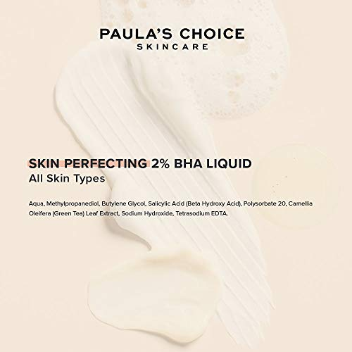 Paula's Choice Skin Perfecting 2% BHA Liquid Salicylic Acid Exfoliant, Gentle Facial Exfoliator for Blackheads, Large Pores, Wrinkles & Fine Lines, Travel Size, 1 Fluid Ounce - PACKAGING MAY VARY 7