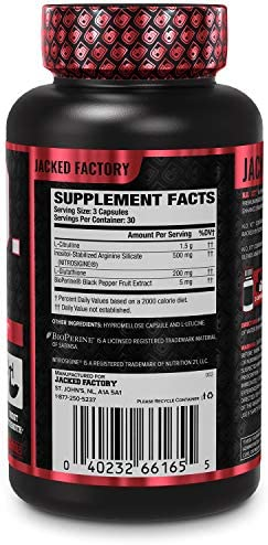 N.O. XT Nitric Oxide Supplement With Nitrosigine L Arginine & L Citrulline for Muscle Growth, Pumps, Vascularity, & Energy - Extra Strength Pre Workout N.O. Booster & Muscle Builder - 90 Veggie Pills 4