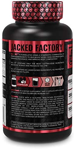 N.O. XT Nitric Oxide Supplement With Nitrosigine L Arginine & L Citrulline for Muscle Growth, Pumps, Vascularity, & Energy - Extra Strength Pre Workout N.O. Booster & Muscle Builder - 90 Veggie Pills 5