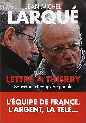 Lettre à Thierry