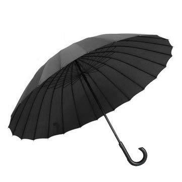 SHOPFORK Umbrella 24 Ribs Umbrella Automatic Windproof For SUN UMBRELLAS AND RAINY UMBRELLAS