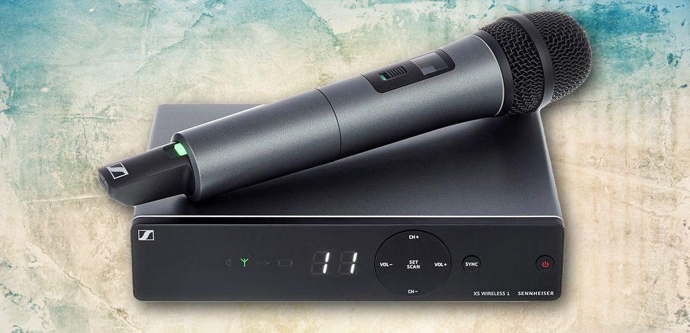 sennheiser xsw 1 835 funkmikrofon set