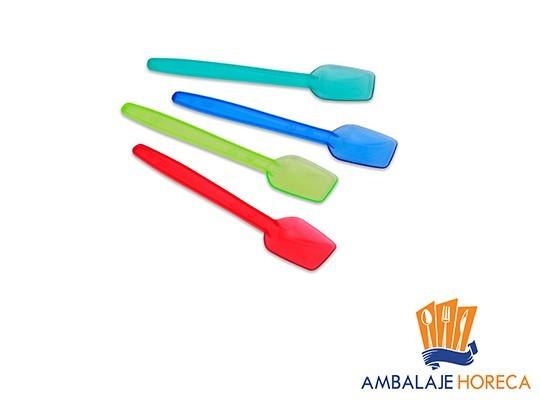 Lingurite din plastic pentru inghetata