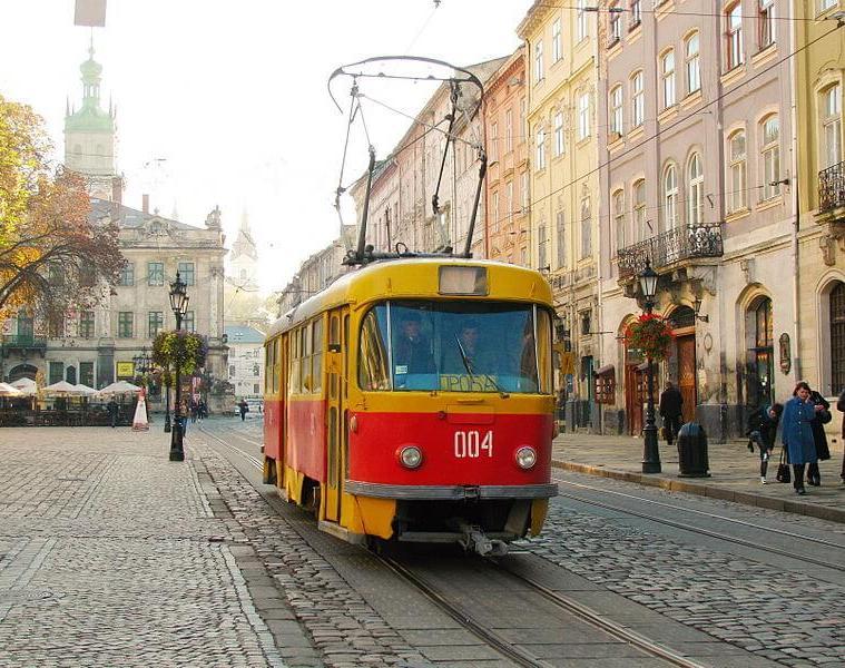komunikacja we Lwowie