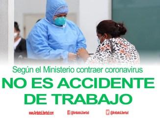 covid accidente de trabajo