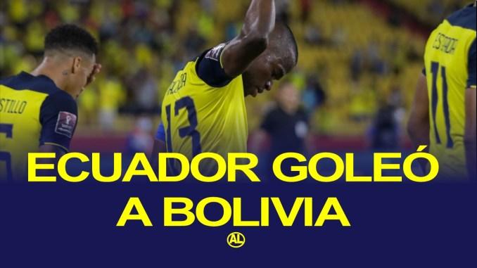ECUADOR BOLIVIA QATAR 2022