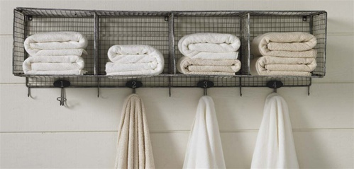 Bathroom Storage: Over the Toilet // Round up by amber-oliver.com // Photo from ourgreenhouse.com