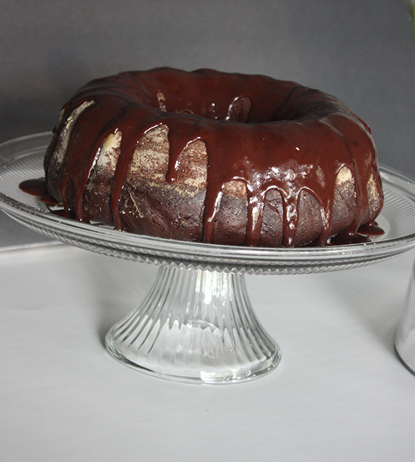 Nana's Triple Chocolate Cake
