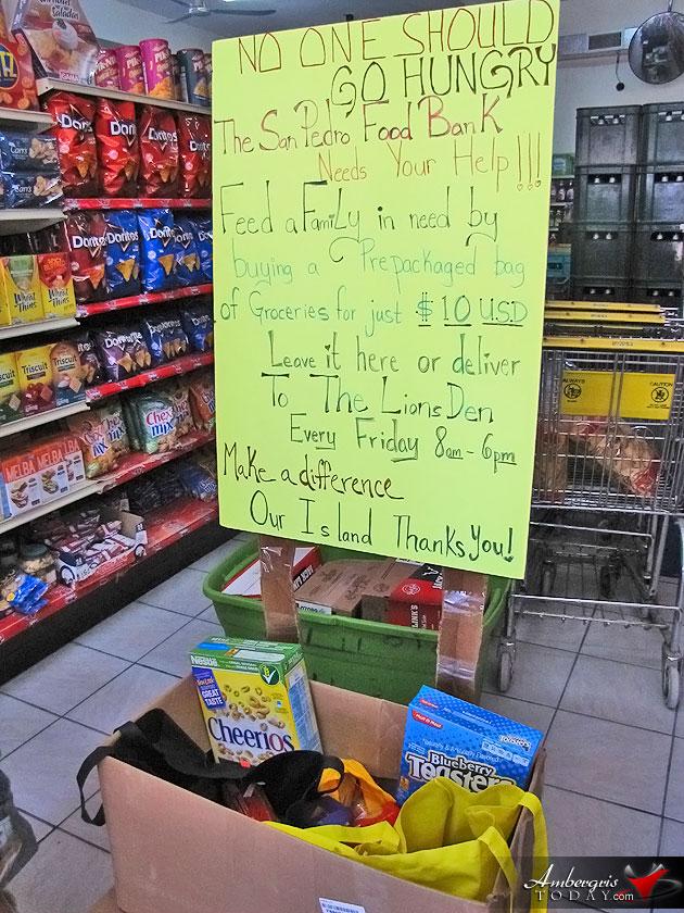 San Pedro Food Bank Sets to Feed the Needy