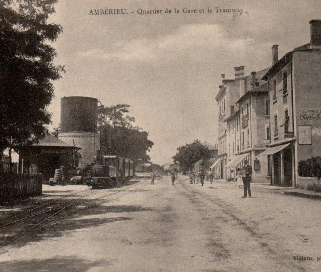 Amberieu En Photos Photos Anciennes Damberieu