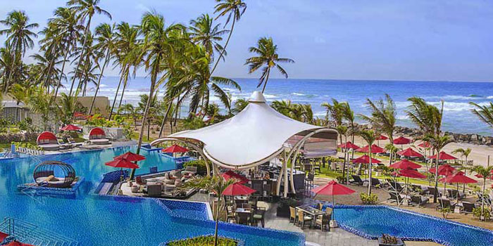 England in Sri Lanka 2018 - Amari Hotel