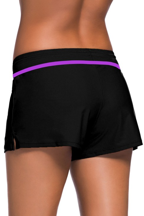 Agathe Women Swim Boardshort Black