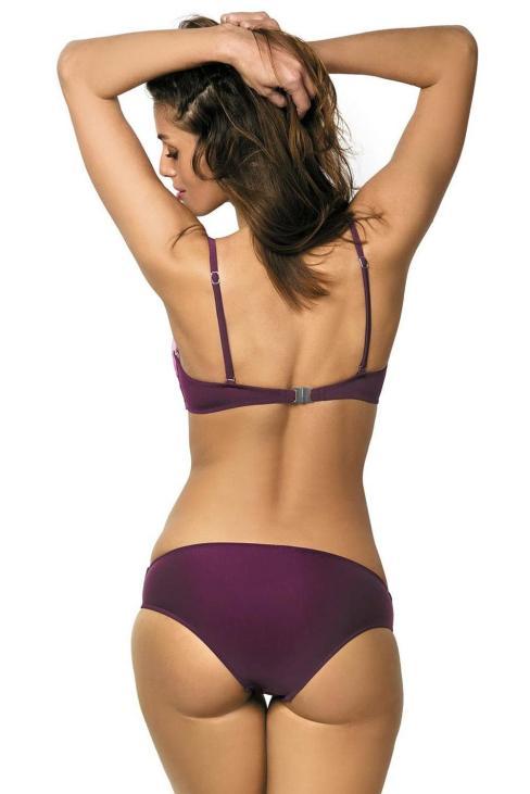 Auden Color Block Adjustable Straps Push Up Bikini Set Sky Blue