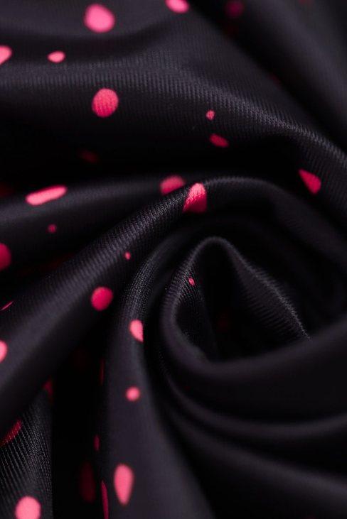 Michelle Women's Print Halterneck Tankini Set Rose Dot
