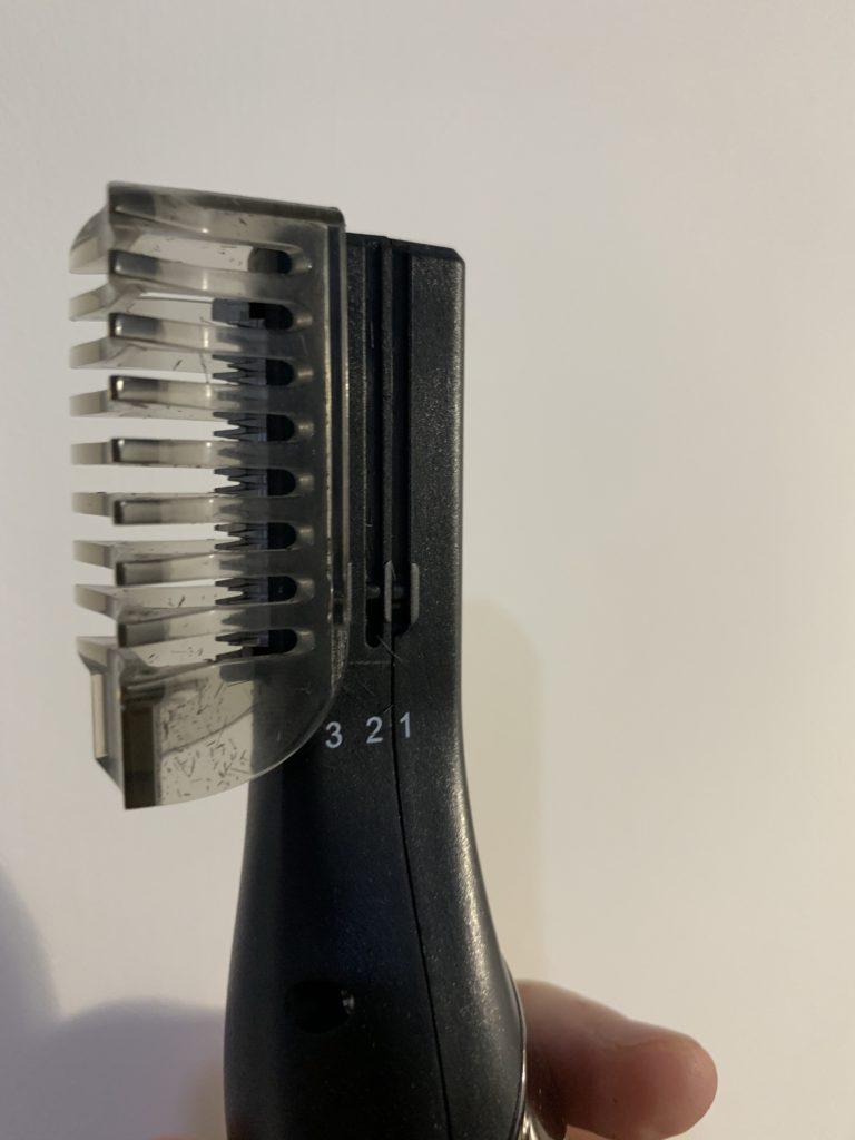 修飾刀頭裝上定位蓋