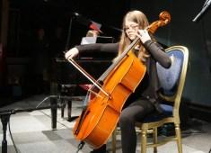 Catherine Howells on Cello