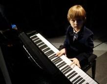 Alex Pylypenko on piano