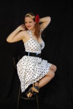 2010 Fife pinup white dress 0162