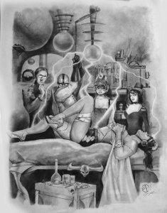 BRIDE OF FRANKENSTEIN BY JAY FIFE