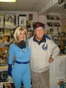 Fantastic Four Amber Love with Joe Sinnott