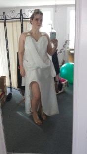 Hughes Wonder Woman Gown Cosplay Amber