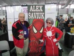 NYCC 2014 DAY 4 (14) madame web alex saviuk
