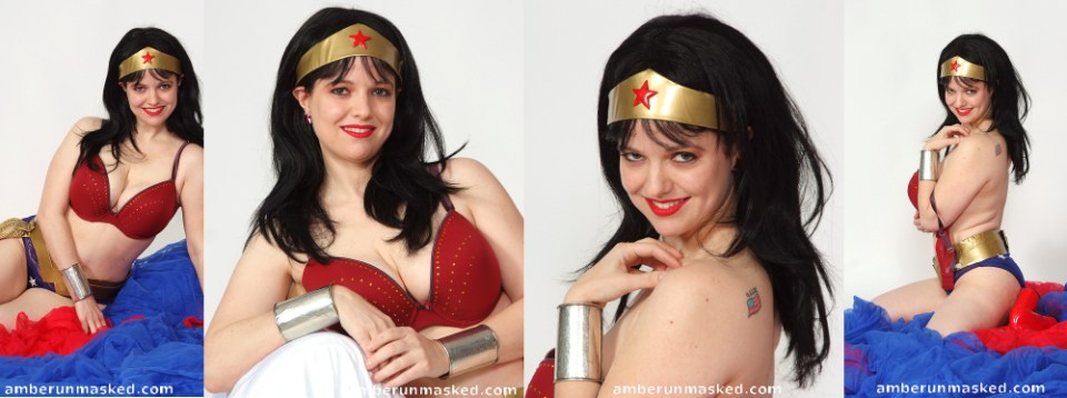 amberunmasked.com Wonder Woman