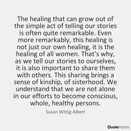 susan wittig albert quote on writing