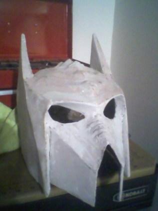 Gareth's Klingon Batman helmet mashup