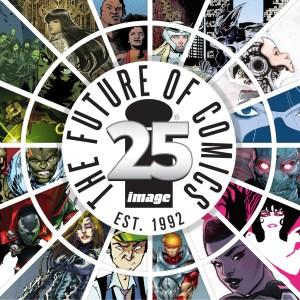 Image Comics 25 year logo