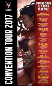 Valiant Comics Convention Tour