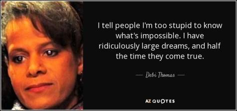 Debi Thomas quote figure skater