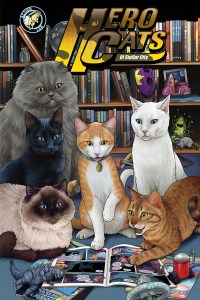 Hero Cats Vol. 5 Cover