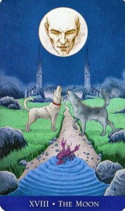 The Moon llewellyns classic tarot