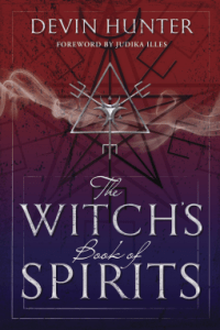 Witchs book of spirits book cover