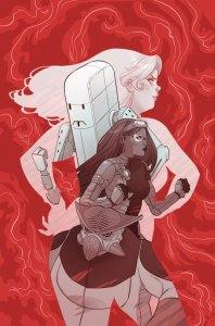 Faith & Future Force #1 cover SAVAGE