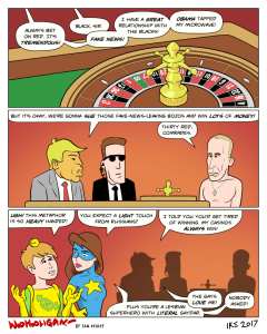 Putin at a Trump casino