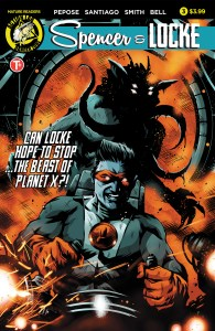 Spencer & Locke #3 COVER B (Maan House VARIANT)