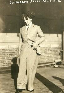 suffragette dress style