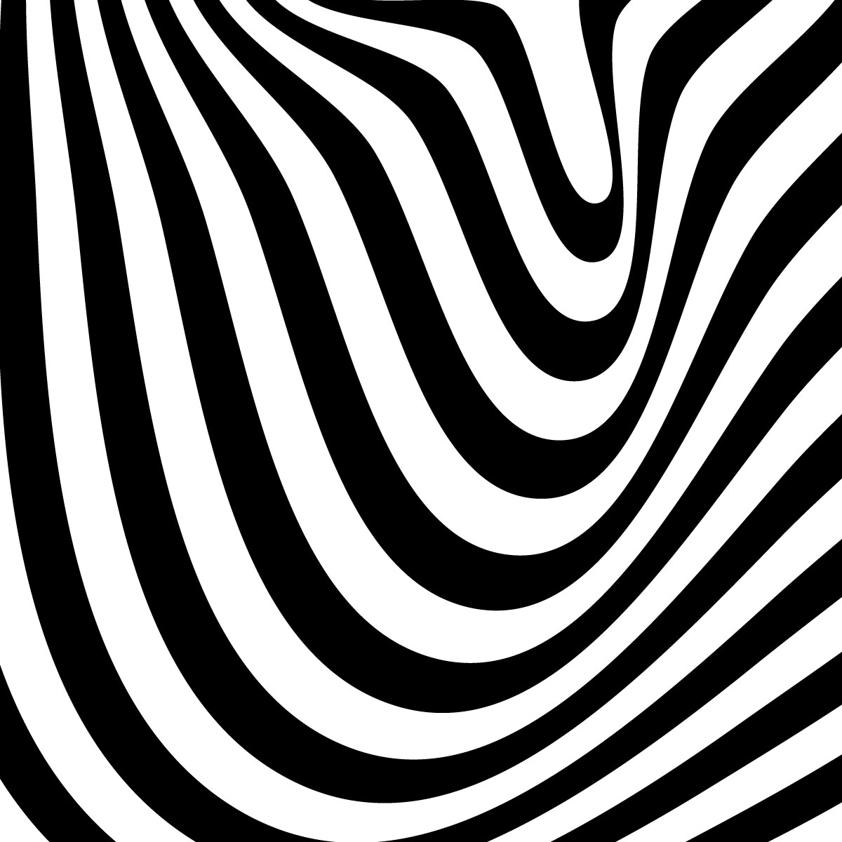 Stickers Muraux Design Sticker Mural Illusion Doptique