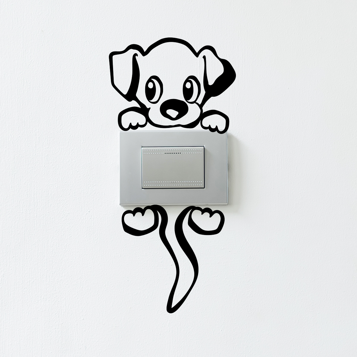 Sticker Interrupteur Petit Chien Charmeur Stickers