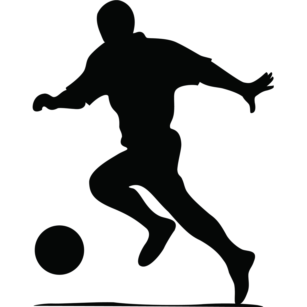 Stickers Muraux Sport Et Football Sticker Silhouette