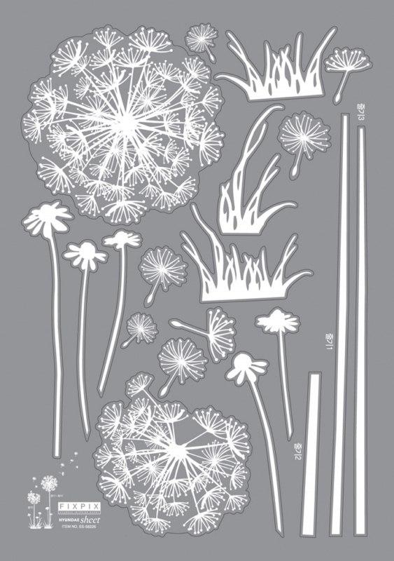 Stickers Fleurs Pissenlits Stickers STICKERS NATURE