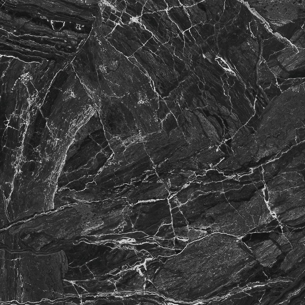 anti slip antique black marble floor stickers