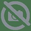 4 stickers sol carreaux de ciment marbre blanc anti derapant