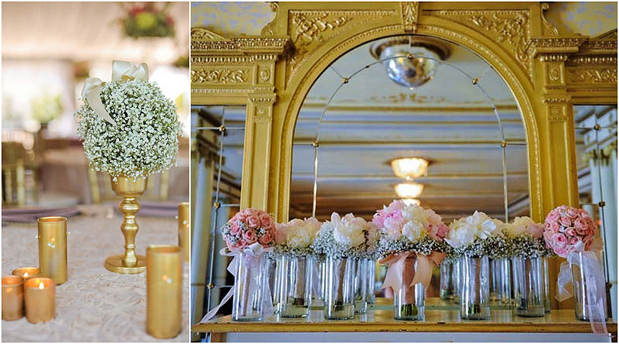 Grand Island Mansion Wedding Flowers Ambience Floral Design