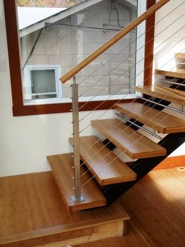 How To Install Bamboo Flooring On Stairs | Installing Hardwood On Stairs | Wooden | Painted Wood | Handrail | Nosing | Vinyl